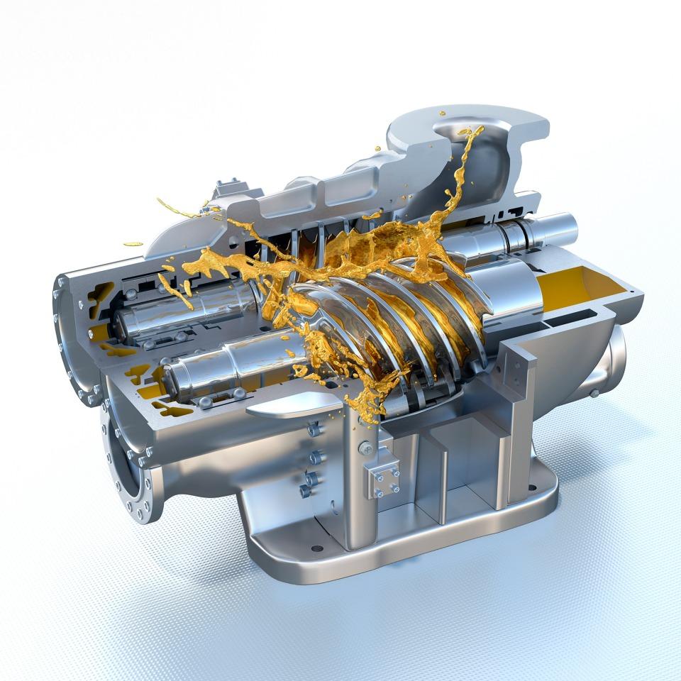 Compressor Final Metallic