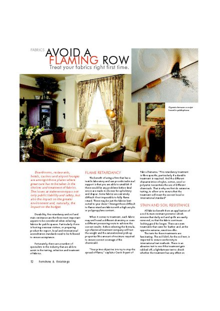 Furniture & Finishes Pg13