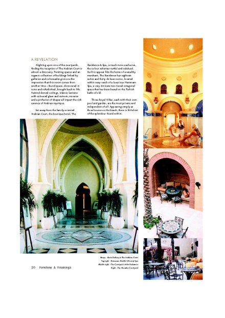 Furniture & Finishes Pg21