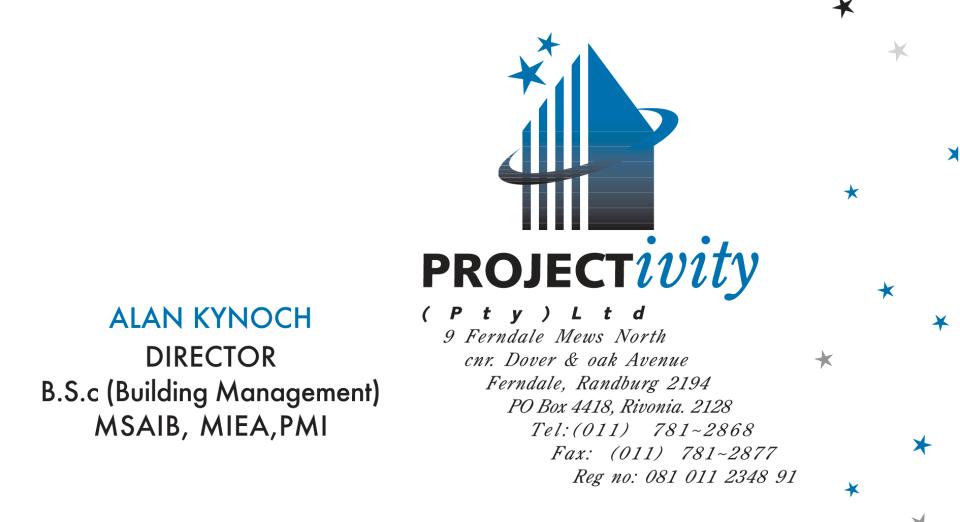 Projectivity B Card