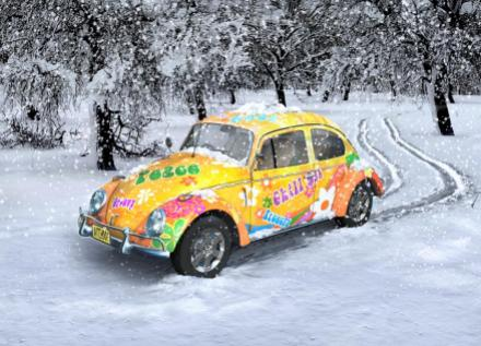 Retro Volksie Winter